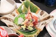 Hyousetsu-no-mon sapporo king and hairy crab top course menu