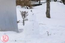 snowman at Lake Toya
