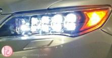 2014 Acura RLX ELITE head lights