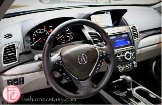 Acura 2016 RDX steering wheel Auto Show 2015 Toronto