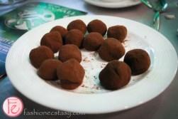 Lindt milk chocolate truffles