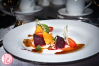 beetroot salad by chef Alvin Leung and Eric Chong