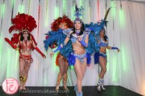 carnival dancers at riobel 20th anniversary party
