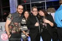Kyle Kofsky, Jamie L Alexander , Beatrice Bastedo riobel 20th anniversary party