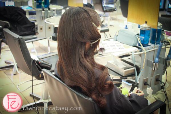 Vidal Sassoon Salon Blow and Style Polished Wave tutorial