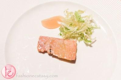 oslo oro bar set menu-foie gras terrine