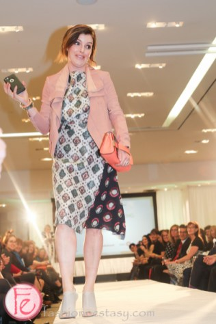 Gill Deacon well dressed for spring 2015 wellspring fashion show