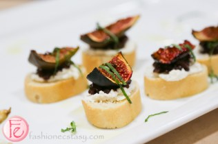 figs crostini hors d'oeuvres
