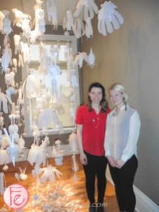 Claire Kurtin and Nadia Pulez grow op 2015
