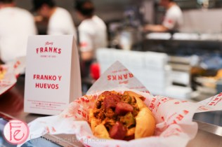fancy franks gourmet hot dog queen west