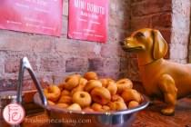 fancy franks gourmet hot dog mini donuts