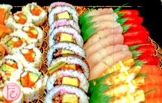 sushi at sony dealer show 2015