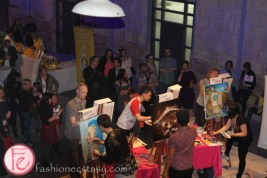 Spring Fling Art Battle Sip Savour Enjoy
