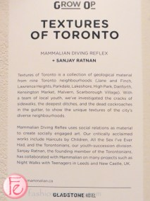 Textures of Toronto grow op 2015