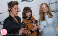 Waneek Horn Miller, Marilyn Field, Jeanne Beker darearts gala