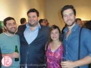 Andrew Nackman, Jon Gabrus, Sari, Evan Todd Fourth Man Out Centrepiece Gala Reception