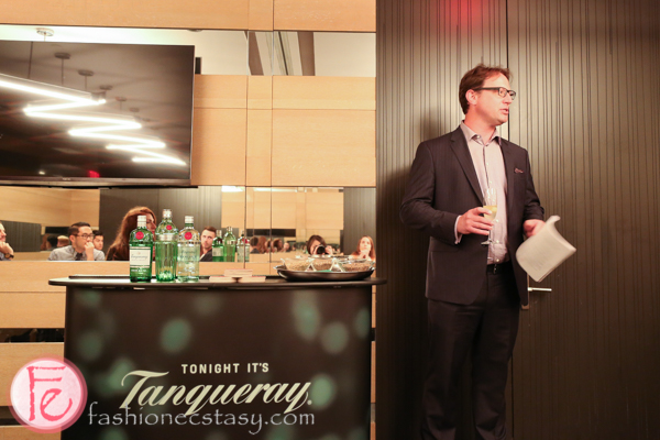 Tanqueray Gin Workshop at bymark