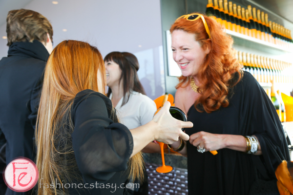 veuve clicquot yelloweek launch party thompson toronto