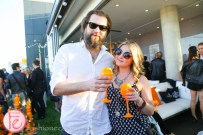 jen kisrch veuve clicquot yelloweek launch party thompson toronto