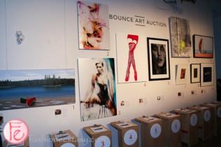 bounce informal ball 2015 art auction
