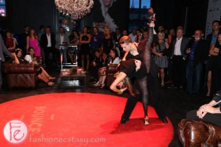 Sharon Tudorovsky and Alex Maslanka dance at bounce informal ball 2015 the theatre centre