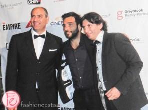 Maurizio Magnifico, Edoardo Leo Leon, Cristiano de Florentiis icff 2015