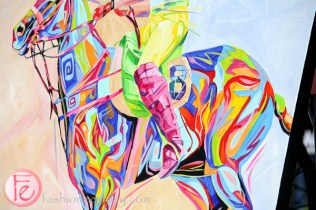 art for auction polo for heart 2015 in support of heart & stroke foundation