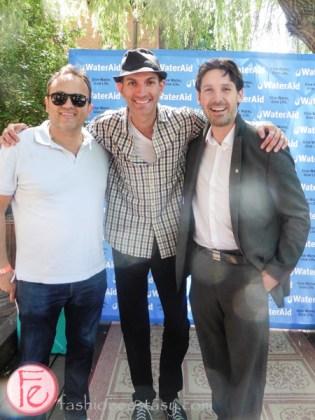 Joe Pandolfo, Nico Bacigalupo, Graham Milner a splash of style toronto 2015 insupport of wateraid canada