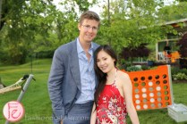 Galen Weston Jr. and Tanya Hsu veuve clicquot rich champagne launch toronto