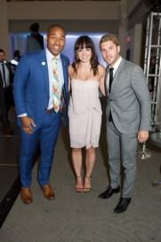 all star gala 2015 TSN's Cabbie Richards, Jennifer Love, All-Star Co-Chair Cam Healy