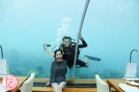 conrad maldives ithaa undersea restaurant