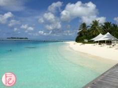 Conrad Maldives beach