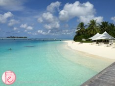 Conrad Maldives beach