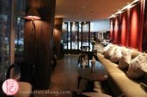 Shangri-La Hotel London at The Shard lounge area