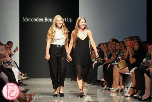 beaufille mercedes benz start up semi-final show