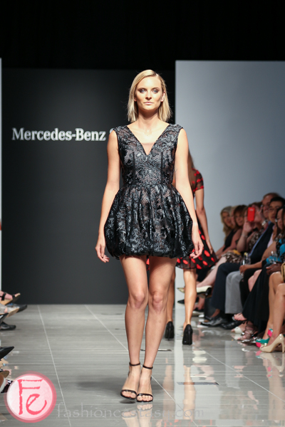 narces mercedes benz start up fashion show