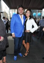 Anthony Teplan and Halla Rafati