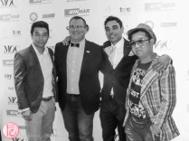 Byron Kent, Steve Morana, Vernon Chang men of characters tiff industry party