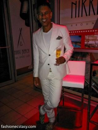 EB Reinbergs nikki beach tiff 2015 all white party