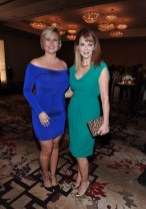 Eva Hartling and Lauren Holly