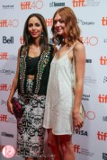 Gia Sandhu (Beeba Boys-TIFF Official Selection) and Emily Coutts