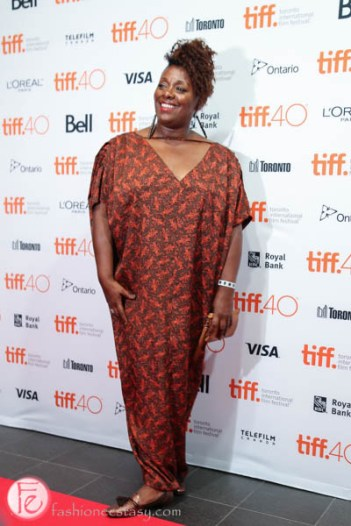 Maxine Bailey tiff soiree 2015 red carpet