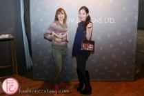 sari colt and tanya hsu at 1uv handbags launch