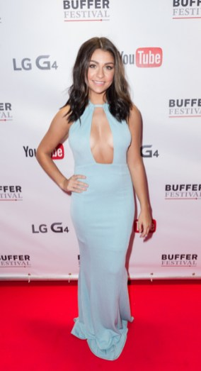 Andrea Russett at bufferfest 2015