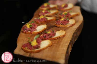 Asian steak tartare by chef david lee of nota bene