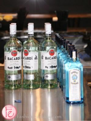 bacardi and bombay sapphire