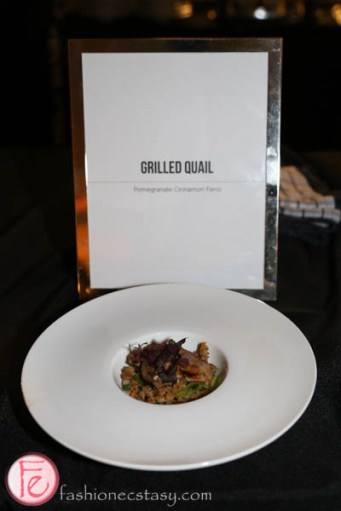 grilled quail at the carlu art with heart gala 2015