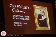 ORT Toronto Recognition Award Recipients Kenny Finkelstein and Janis Finkelstein