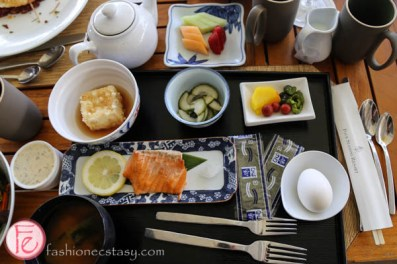 japanese breakfast set at four seasons resort maui
