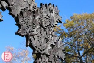 golden leaves gordon lightfoot statue